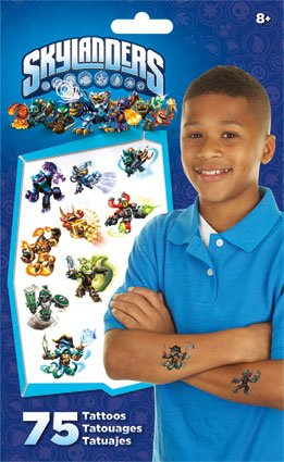 Skylanders Skylanders Skylanders Giants Swap Force Temporary Tattoos 75 ct. by Trends International c44620