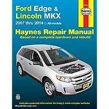 H36014 Ford Edge Lincoln MKX Haynes Repair Manual 2007 - 2012