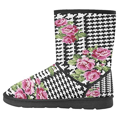 InterestPrint Womens Snow Boots Unique Designed Comfort Winter Boots Multi 29 h6h3MM