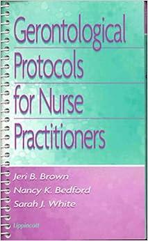 Download Epub Gerontological Protocols for Nurse Practitioners
