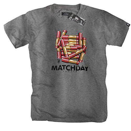 "PG Wear ""matchday"" T-Shirt -grey-"