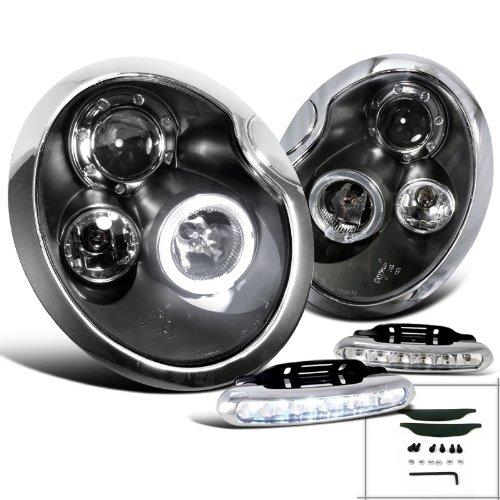 Cooper Black Projector Headlights Lamps