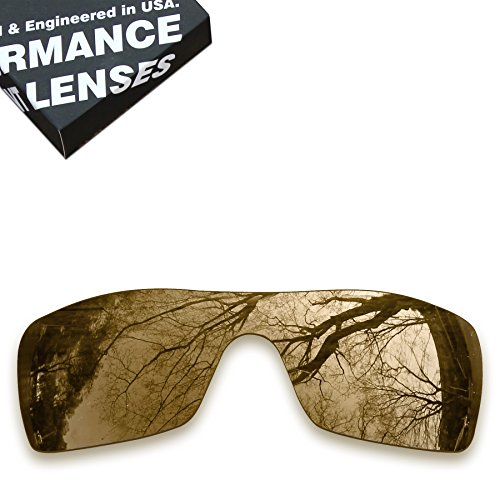ToughAsNails Polarized Lens Replacement for Oakley Batwolf Sunglass - More - Batwolf Polarized