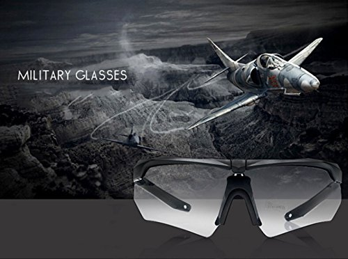 de los Prueba Balas de la Material Prueba vidrios a a Gafas de explosiones Alpinismo PC Que del Vidrios montan 0w4aqB