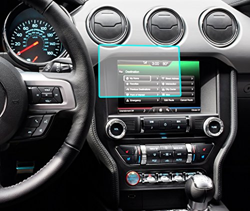 Protec Ford/Lincoln 8.0 Anti-Glare Screen Protector [Fits most Fiesta,Focus,Fusion,C-Max-Mustang-Taurus-Escape-Edge-Flex-Explorer-Expedition-F-150,F-250,F-350,F-450] [2013-2014-2015-2016-2017] (Protector Protec)