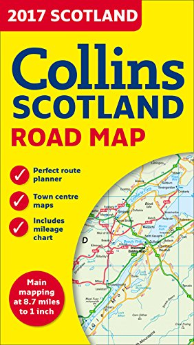 Download 2017 Collins Map of Scotland 1:550K ebook