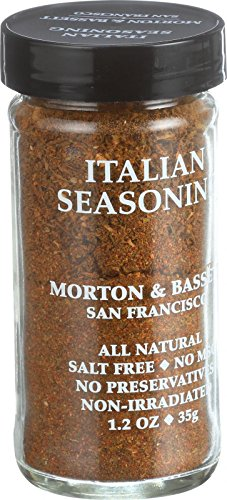 Morton and Bassett Seasoning - Italian Seasoning - 1.5 oz - Case of 3