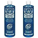 Robarb 20152A Super Blue Crystal Clear Pool Water Clarifier, 8 Fl Oz (2 Pack)