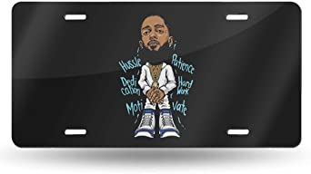 Nipsey Hussle Universal Hustle and Motivate License Plate Frame