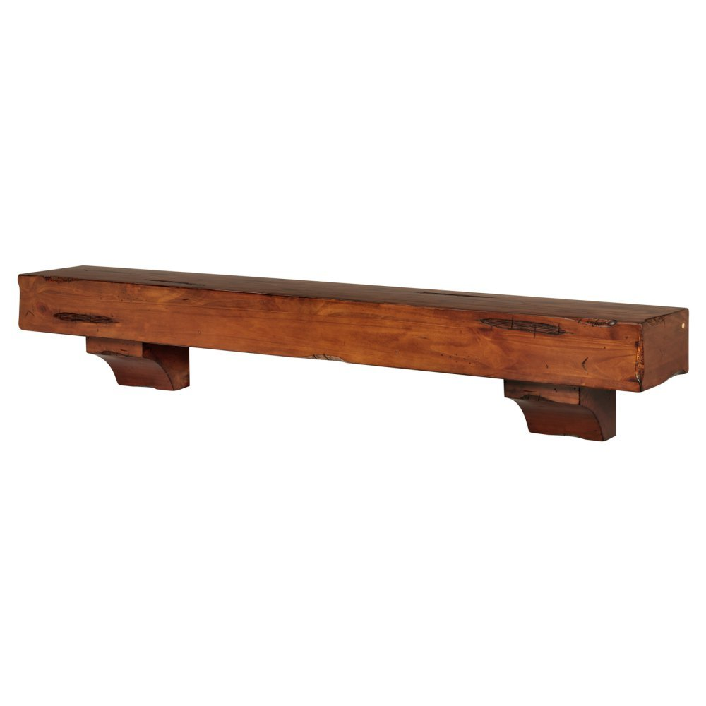 Pearl Mantels Shenandoah Traditional Fireplace Mantel Shelf Pearl Mantels Corporation 4127250