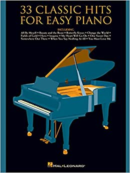 33 Classic Hits For Easy Piano Paperback August 1 1998