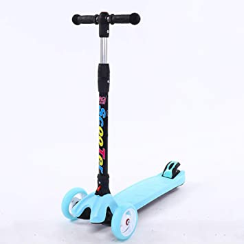XUE Patinete Scooter con Asiento extraíble Ideal para niños ...