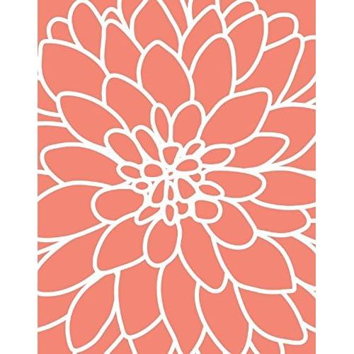 Wall Art Decor Coral Color Amazon Com