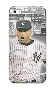 Top Quality Rugged Derek Jeter Baseball Case Cover For Iphone 5c hjbrhga1544