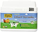Vermont Organics Milk-Based Organic Infant Formula with Iron, 23.2 oz.  (Pack of 4)