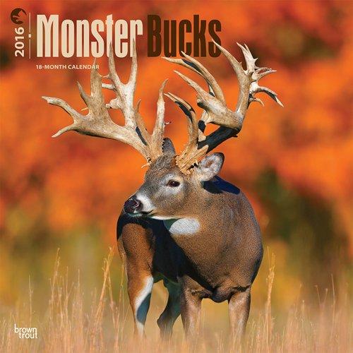 Monster Bucks - 2016 Calendar 12 x 12in pdf