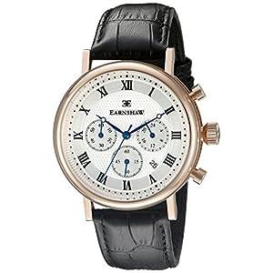Thomas Earnshaw Men's ES-8051-02 Beaufort Analog Display Japanese Quartz Black Watch