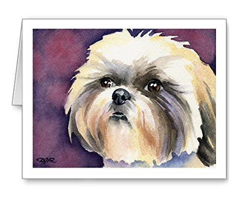 Shih Tzu - Set of 10 Note Cards With Envelopes