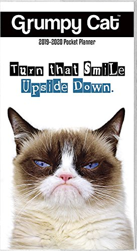 2019 Grumpy Cat Pocket Planner Calendar – Engagement Calendar, June 25, 2018 Trends International 1438860390 Entertainment Calendars