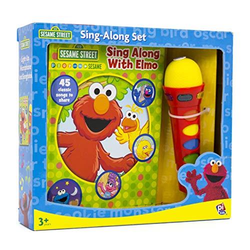 (Hachette Book Group PUB7542500-A1 Book, Box, and Module Elmo Microphone)