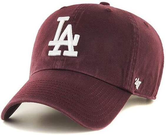 professional sale hot sales look for Amazon.com: '47 Brand MLB Los Angeles Dodgers Clean Up Cap - Dark ...