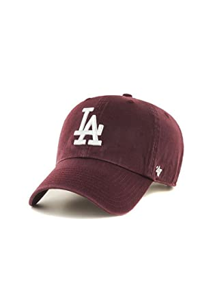 new product 59960 e5b8a  47 Brand MLB Los Angeles Dodgers Clean Up Cap - Dark Maroon