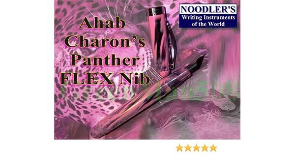 Noodler/'s Ahab Flex Fountain Pen Charon/'s Pink 15037
