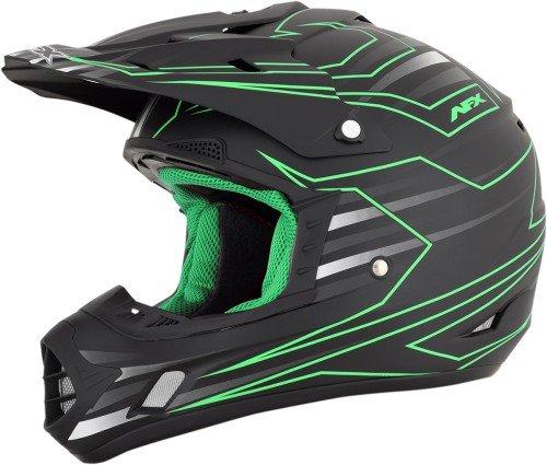 AFX 01105017 FX-17 Mainline Helmet (Green, (Afx Fx 20 Helmets)
