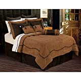 HiEnd Accents Barbwire Western Bedding, Queen