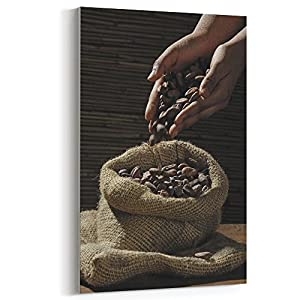 Westlake Art - Canvas Print Wall Art - Chocolate Bar on Canvas Stretched Gallery Wrap - Modern Picture Photography Artwork - Ready to Hang - 12x18in (*7x-5cc-bd2)