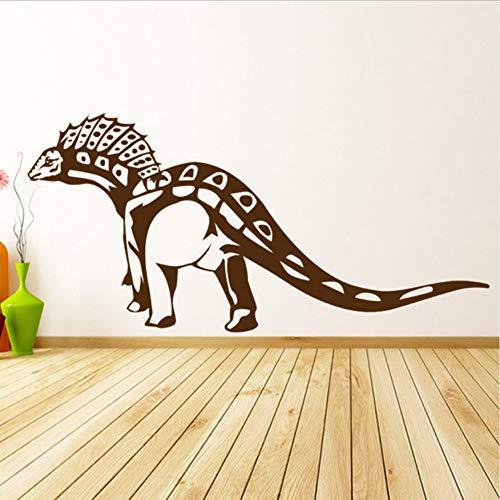 - Dinosaur Animal Wall Applique Vinyl Art Sticker Removable Spine Dragon Home Decoration Wall Children Wall Decal 58x35cm