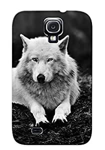 Exultantor High Quality Animal Wolf Case For Galaxy S4 / Perfect Case For Lovers