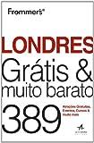 capa de Frommer's Londres Grátis Muito Barato