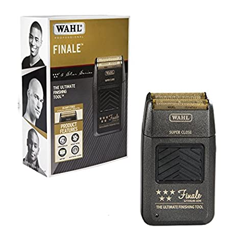 Wahl Professional 5 Star Series Finale Finishing Tool 8164 - for Professional Stylists and Barbers - Super Close - Black
