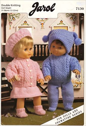 Jarol Dolls Clothes Knitting Pattern For Dolls And Premature Babies