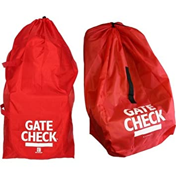 Amazon.com   J.L. Childress Gate Check Bags for Standard Double Strollers  and Car Seats (Red) Color  Red Model  (Newborn d626b67a9ad86
