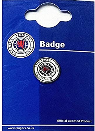 6cd4a7631e0c4 Gasgow Rangers FC Official Metal Crest Pin Badge  Amazon.co.uk  Sports    Outdoors