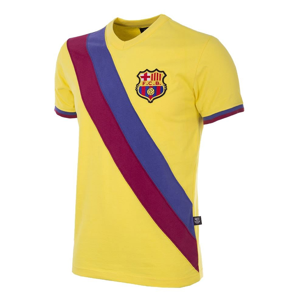 Copa 78-79 Barcelona Away Retro Trikot