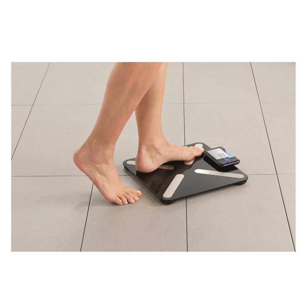 Hartmann veroval Báscula, pantalla extraíble, báscula de análisis corporal BMI grasa corporal: Amazon.es: Salud y cuidado personal