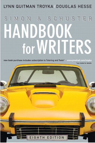 Simon & Schuster Handbook for Writers (8th Edition) (MyCompLab Series)