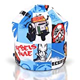 Childrens Bean Bag Kids Girls Boys Character Chair Seat Cover Only Large (Star Wars Rebel)