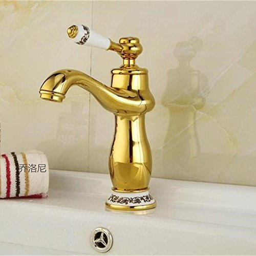 D gold High) NewBorn Faucet Kitchen Or Bathroom Sink Mixer Tap Hot And Coldtaps gold Hot And Cold Basin D gold High