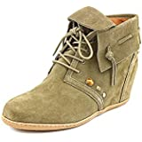 DV By Dolce Vita Kiel Womens Size 9.5 Green Suede Fashion Ankle Boots