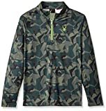Spyder Boy's Park Long Sleeve T-Neck, Mini Guard Camo, Medium