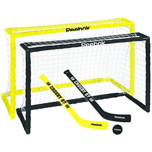 (Maska - Reebok U.S. Inc Deluxe Mini Hockey Set - Crosby)