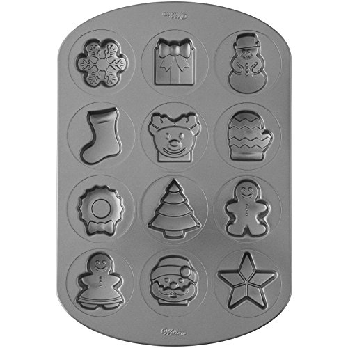 Wilton Non-Stick Holiday Shapes Cookie Pan