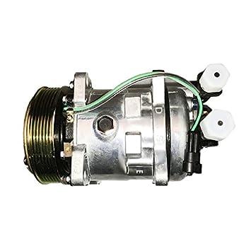 Compresor de aire acondicionado 7023580 para Bobcat Skid Steer Loader S630 S650 S750 T630 T650: Amazon.es: Coche y moto