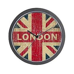CafePress Vintage London Unique Decorative 10 Wall Clock