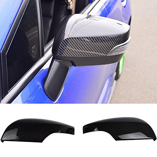 (Mirror Cover Fits 2015-2018 Subaru Impreza WRX & STI | Factory Style Carbon Fiber (CF) Side Mirror Cover Caps by IKON MOTORSPORTS | 2016 2017)