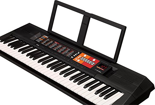 yamaha psr f51 61 key portable keyboard with survival kit. Black Bedroom Furniture Sets. Home Design Ideas